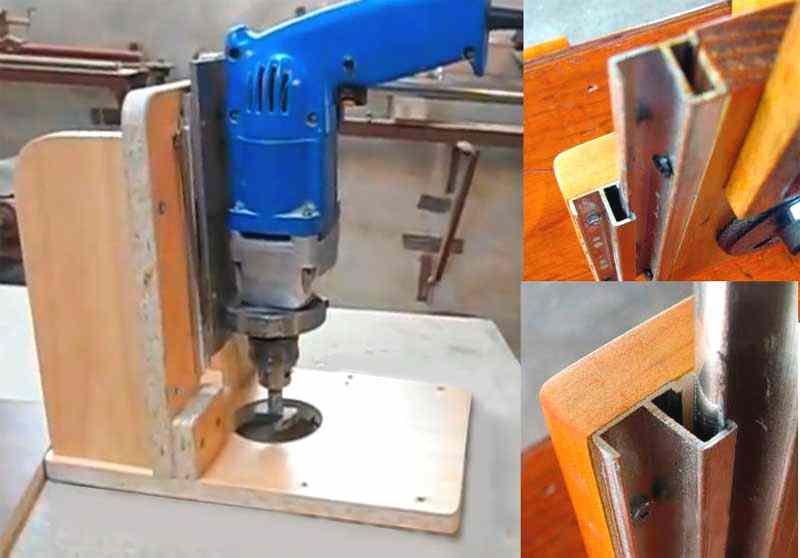 Станок самодельный для фрезерования древесины