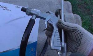Пескоструйный пистолет на компрессор — назначение и применение инструмента