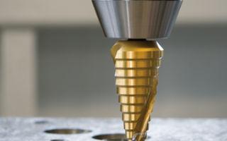 Конусные и ступенчатые сверла для металла их отличия назначение и применение