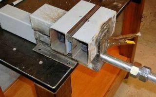Изготовление самодельных тисков или как сделать зажимной инструмент в домашних условиях