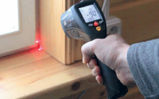 Пирометр для определения потерь тепла в доме и квартире