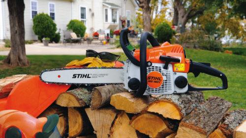 Инструмент марки Stihl MS 180