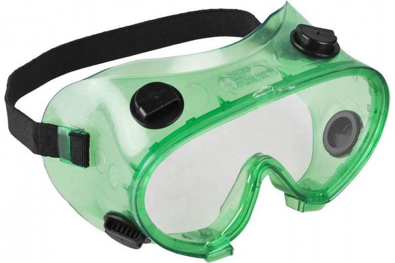 Защитные очки закрытого типа
