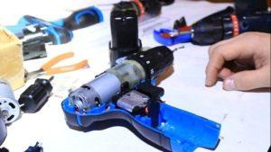 Как отремонтировать двигатель шуруповерта