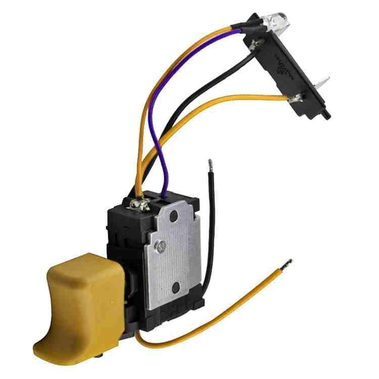 Проверка и ремонт пусковой кнопки шуруповерта