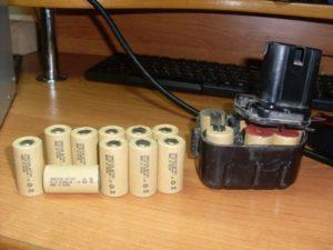 Ремонт аккумулятора шуруповерта