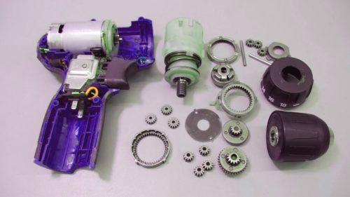 Ремонт механической части шуруповерта