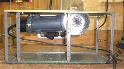 Болгарка в качестве станка для работы с древесиной