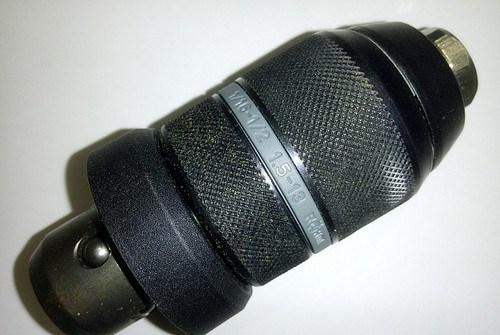 Быстрозажимной цанговый двухмуфтовый патрон на перфоратор