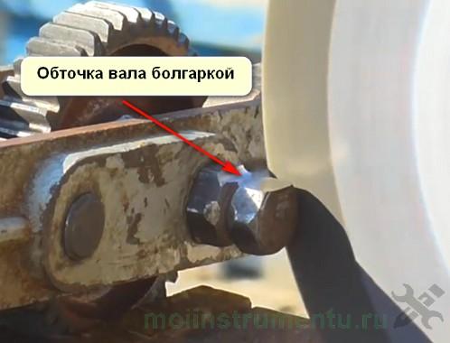 Что сделать из дрели обточка вала болгаркой