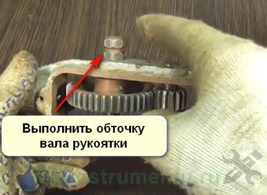 Что сделать из дрели обточка вторичного вала