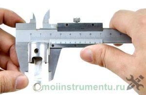 Как измерять поршень штангенциркулем