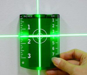 Мишень для лазерного уровня
