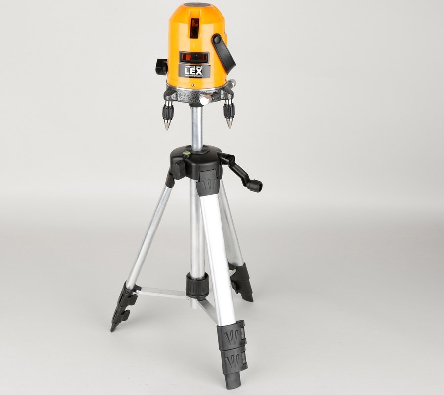 Настройка лазерного уровня