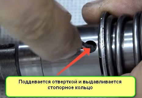 Ремонт редуктора перфоратора извлечение бойка