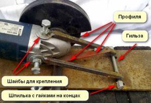 Станок из болгарки простой