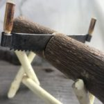 Как работать двуручной пилой и изготовление удобной ножовки своими руками