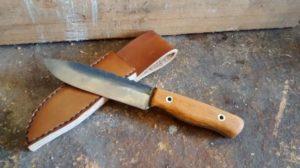 Готовый самодельный нож из напильника