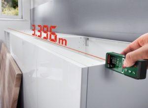 Измерение лазерным дальномером