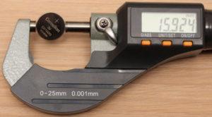 Как работать микрометром