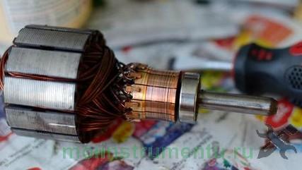 Коллектор электромотора
