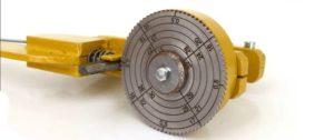 Микрометр для измерения горячего проката