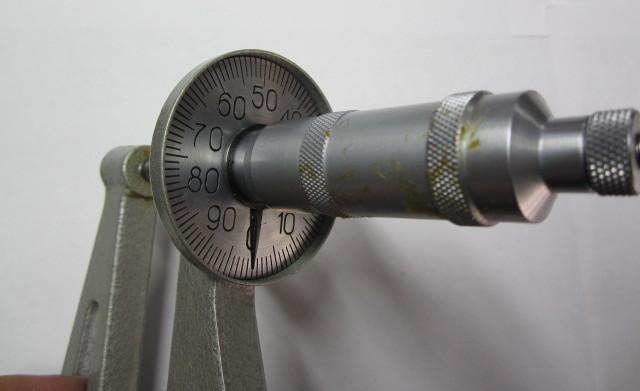 Микрометр для измерения толщины листа