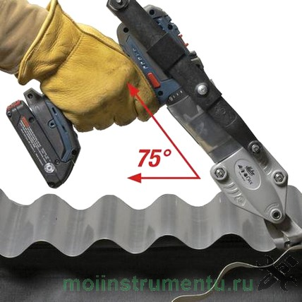 Насадка на дрель для резки металла turboshear