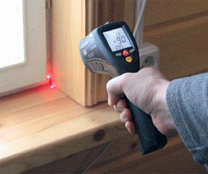 Пирометр для выявления потерь тепла в доме