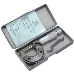 Принцип измерения микрометром
