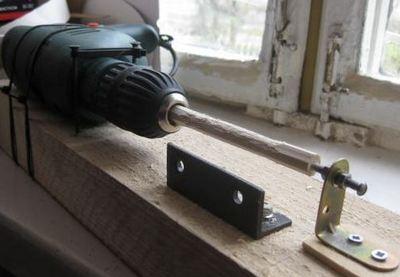 Изготовление токарного станка из дрели самостоятельно