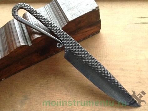 Вариант ножа из напильника