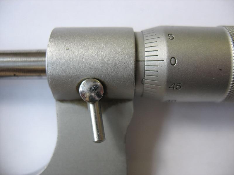 Выставить ноль на микрометре