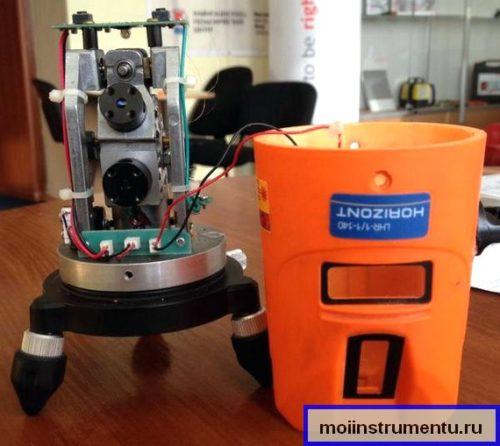 Как отремонтировать лазерный уровень
