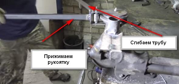 Как работать трубогибочным станком