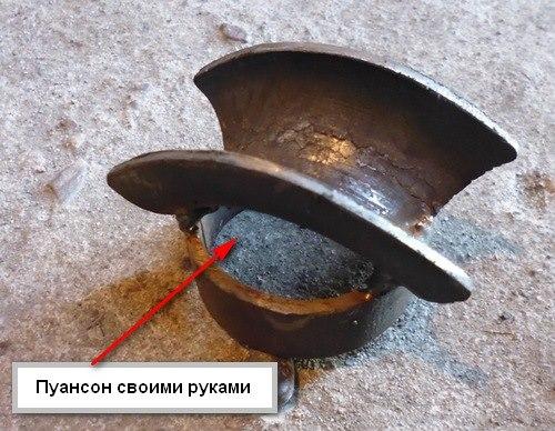 Как сделать пуансон на трубогиб своими руками