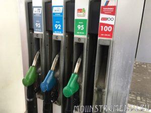 Марки бензина для триммера что лучше