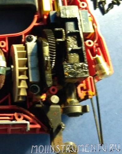 Механическая часть лобзика ремонт