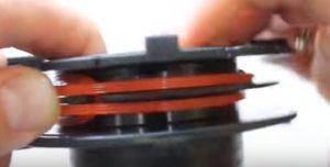 Намотка лески на катушку триммера как правильно