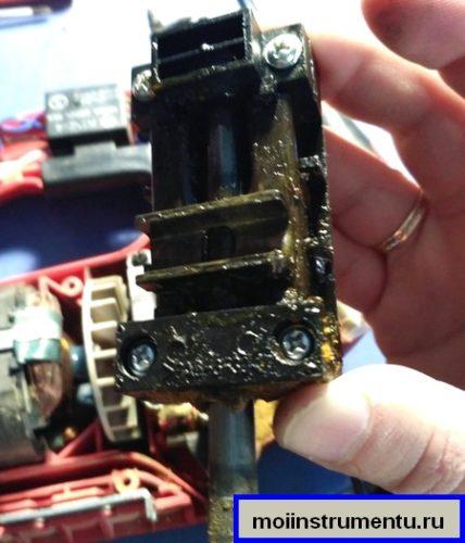 Ремонт штока на лобзике и замена