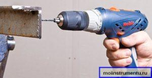 Сверление металла шуруповертом как работать