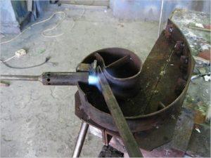 Трубогиб для изгибания стальных труб декоративного вида