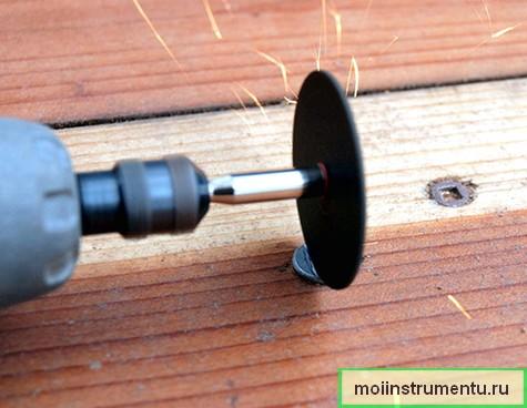 Как выкрутить саморез со слизанными гранями