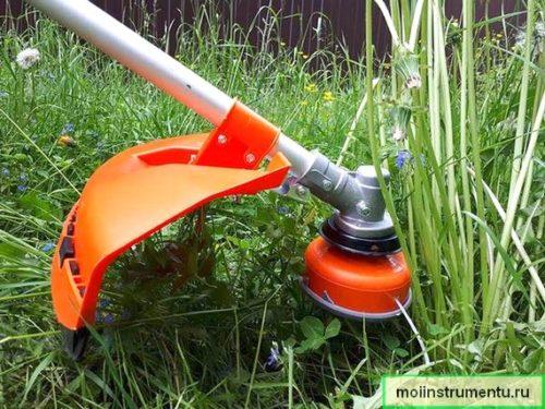 Какую траву можно косить триммером
