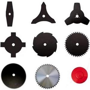 Критерии выбора дисков на триммеры и инструкция по их замене