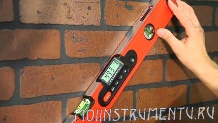 Измерение угла уровнем инструкция