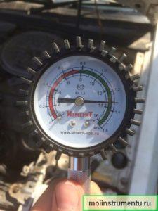 Измерить компрессию бензокосы