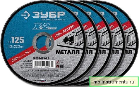 Отрезной диск по металлу конструкция