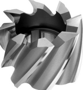 Цилиндрическая фреза с угловыми зубьями