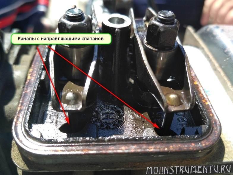 Камера клапанов на бензокосе Штиль ФС87